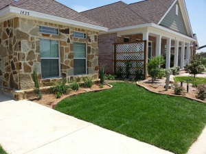 Kick it up a notch with landscaping!